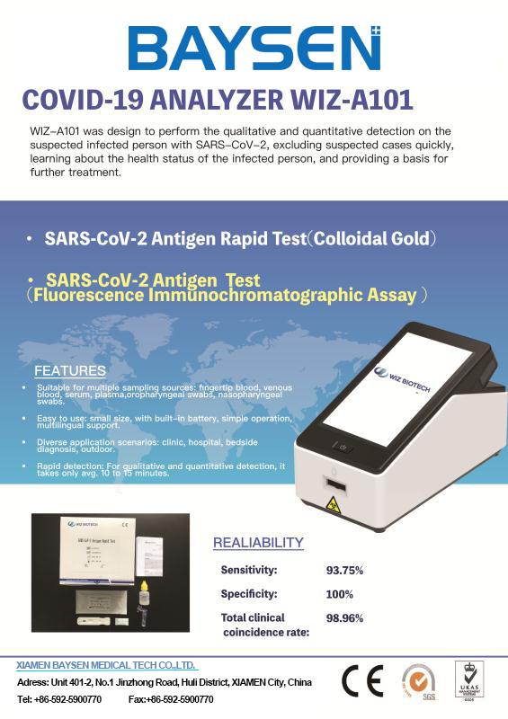 Antigen quantitative test