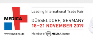 18-21 November 2019 Medica Trade Fair Dusseldorf,GERMANY